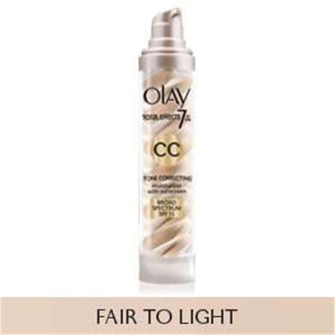 olay cc cream fair to light amazon com olay cc cream total effects tone correcting