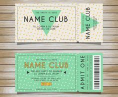 ticket template images event  ticket