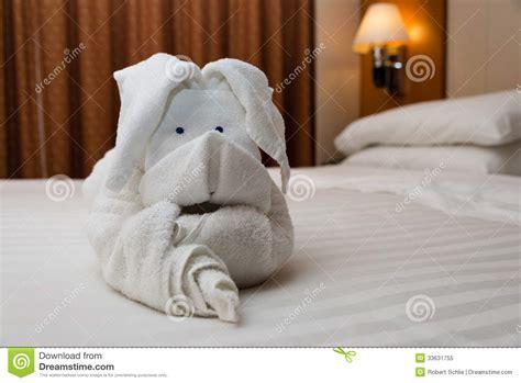 towel origami art stock image image  rabbit origami