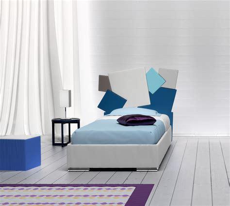 letto singolo square bianco  contenitore duzzle