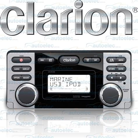 Boat Am Fm Radio by Clarion Marine Boat Radio Watertight Dustproof Cd Am Fm