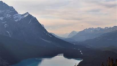 Mountain Clear Sky Nature Lake Desktop Laptop