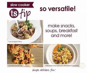 Tuesday Tip: Slow Cooker Versatility