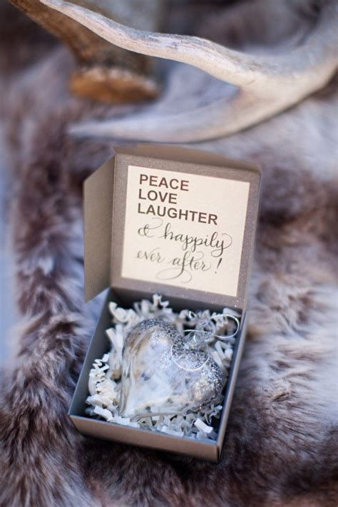35 brilliant ideas for winter wedding favors wedding