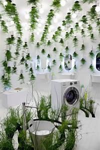 Plante Verte Salle De Bain : badezimmer design mit blumen und pflanzen originelle fr hlingsideen ~ Melissatoandfro.com Idées de Décoration