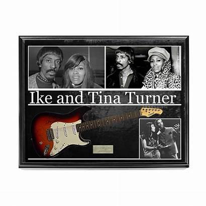 Turner Tina Ike Guitar Signed Autograph Pros