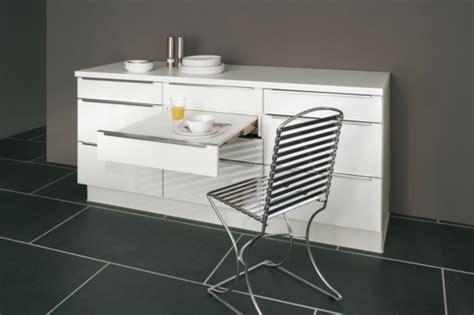 table de cuisine retractable table rabattable cuisine meuble cuisine avec table