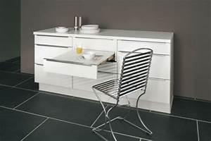 Meuble Avec Table Rabattable : table rabattable cuisine paris meuble cuisine avec table ~ Teatrodelosmanantiales.com Idées de Décoration