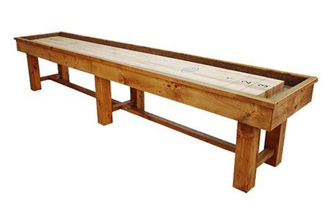 16 foot shuffleboard table 16 foot ponderosa pine shuffleboard table mcclure tables