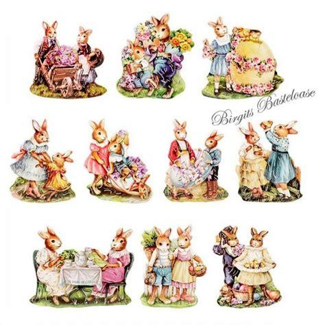 3d motive 3d motive ausgestanzt ostern vintage 1 10er set hc 9018 kaufen