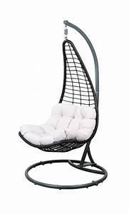 Chaise Suspendue Jardin : chaise suspendue support produits feelgood pour la maison et le jardin chez casa ~ Teatrodelosmanantiales.com Idées de Décoration