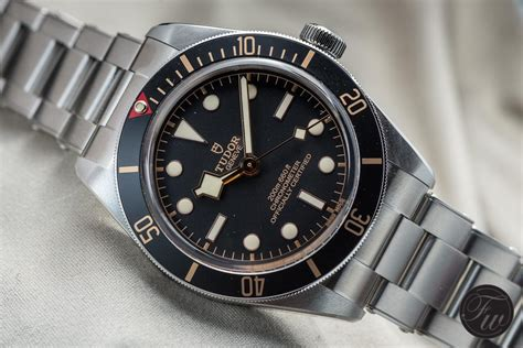 The New Tudor Black Bay Fiftyeight 39mm And A Thinner Case