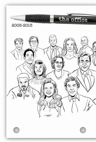 Office Cast Tv Final Season Cartoons Cartoon