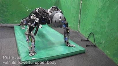 Humanoid Robot Robots Ups Badminton Human Lifelike