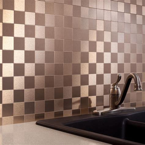 Peel And Stick Groutless Tile Backsplash by Aspect Peel And Stick Backsplash Decorations Groutless
