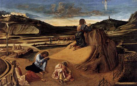 the agony in the garden bellini kanvas tablo burada baskıloji