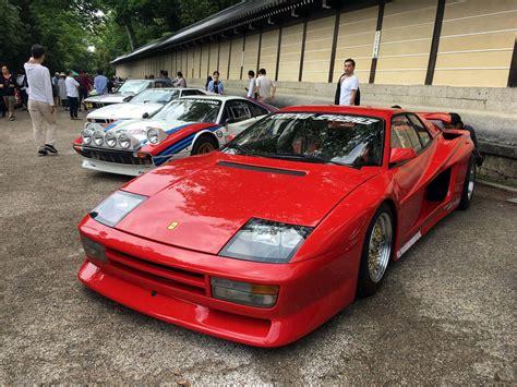 Fujimi koenig specials testarossa 1/16 model kit vintage #11355. Koenig-Specials Ferrari Testarossa (avec images)