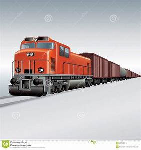 Cargo Train Animated Clipart - Clipart Suggest