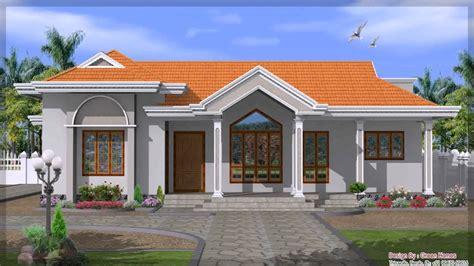 single story house plans indian style  description