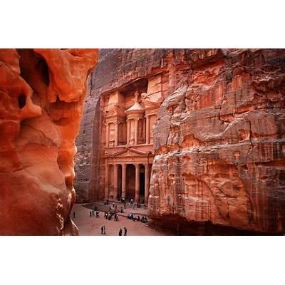 Petra In Jordan 2 Wide Wallpaper - Hivewallpaper.com