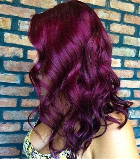 30 Dark Red Hair Color Ideas And Sultry Showstopping Styles