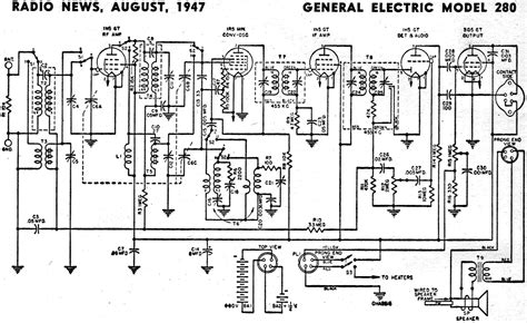 General Electric Wiring Schematic by Radio Schematic Wiring Library