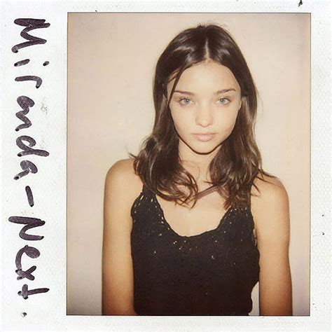 Polaroids Of Famous Models Without Makeup, When They Were