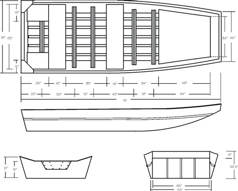 plans  wood jon boats    diy building plans  class boat