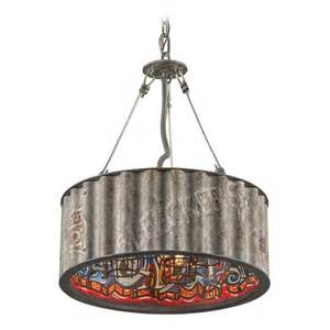 Troy lighting street art weathered galvanized with