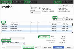 invoice layout quickbooks free invoice template With quickbooks invoice fees