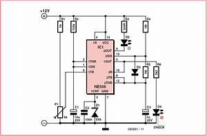 Voltage Monitor Schematic Circuit Diagram