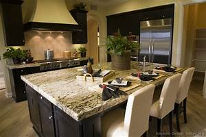 pictures of kitchens traditional black 763