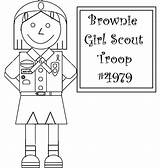 Scout Coloring Brownie Pages Quest Junior Star Scouts Template Discovering Brownies sketch template