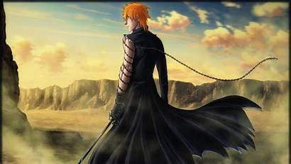 Bleach Ichigo Anime Boys Orange Kurosaki Desert