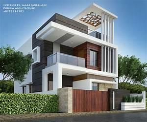 Exterior, By, Sagar, Morkhade, Vdraw, Architecture, 8793196382