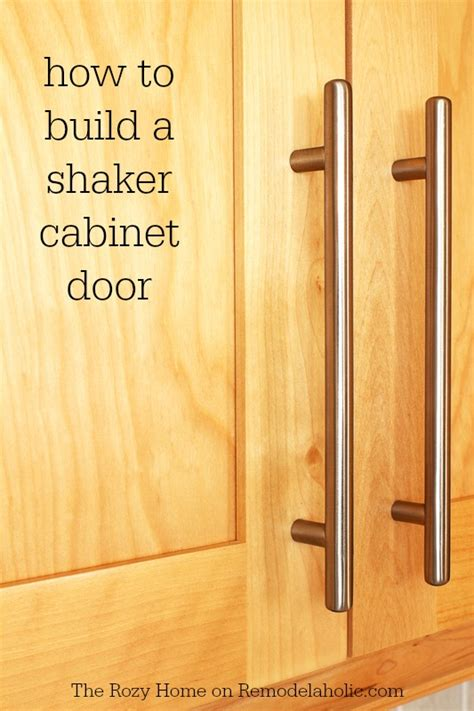 how make kitchen cabinets doors remodelaholic how to make a shaker cabinet door