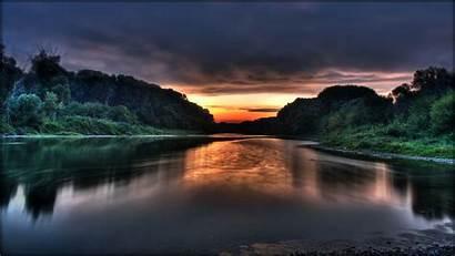 Nature Widescreen Sunrise Water Lake Background Laptop