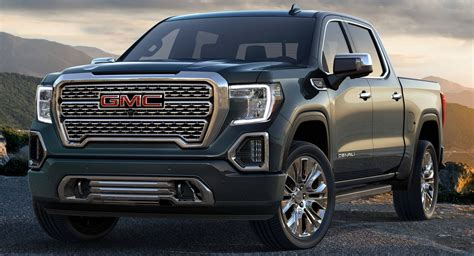 2019 Gmc Sierra Looks To Luxury And Carbon Fiber Bed To