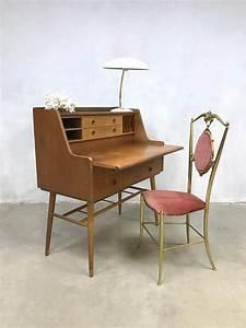 Bureau Secretaire Vintage : swedish vintage design bureau secretaire midcentury modern ~ Teatrodelosmanantiales.com Idées de Décoration