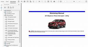 2016 Ford Explorer Repair Manual