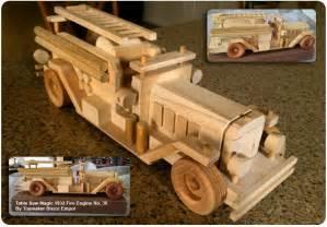 wooden toy trucks plans