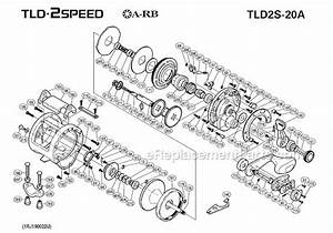 Shimano Tld 2 Speed Conventional Reel