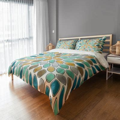 teal duvet cover buy teal and grey bedding from bed bath beyond