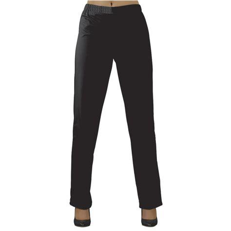 pantalon cuisine pas cher pantalon de travail noir taille élastiquée sans poches