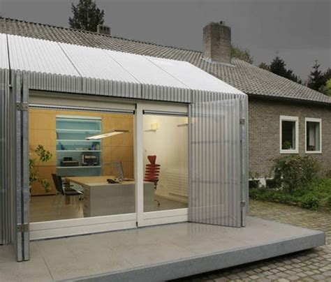Garage Turned Into Delightful Small Office In Eindhoven