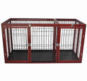 54quot dog crate with separator aosomca With pet supplies dog crates