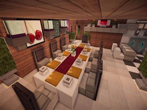 Minecraft Kitchen Table, Minecraft Modern Living Room Jade