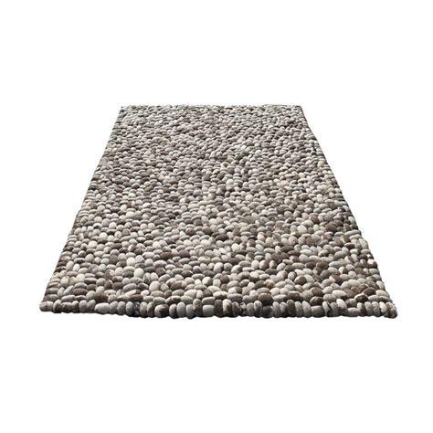 tapis fait stones en gris carving 200x300