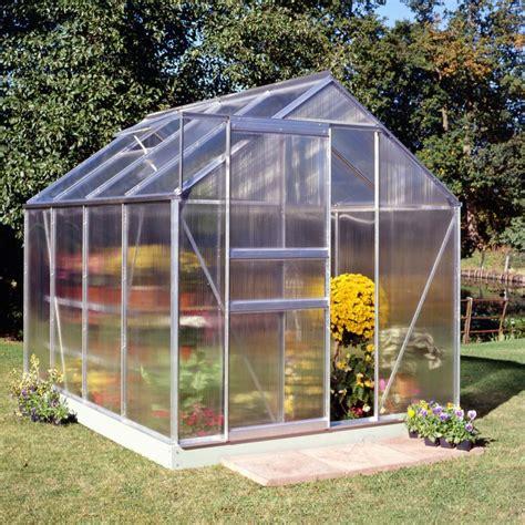 serre de jardin 5m 178 en polycarbonate 4mm popular halls