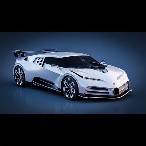 The 2020 bugatti centodieci celebrates a car that has long divided bugattists. Bugatti Centodieci 2020   CGTrader